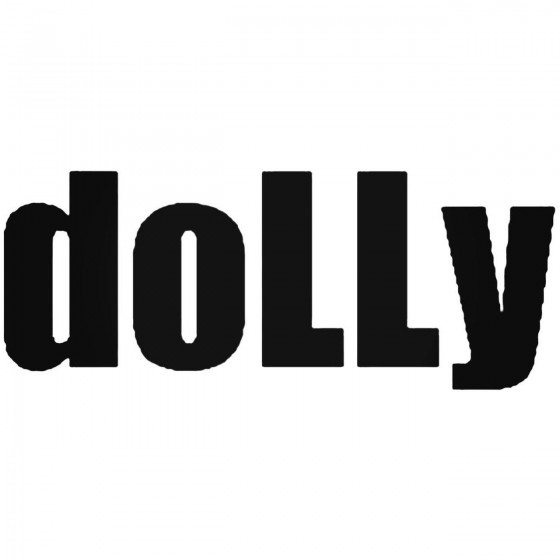 Dolly Band Decal Sticker