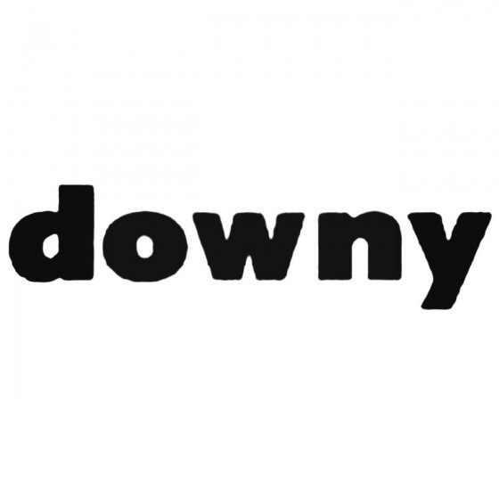 Downy Band Decal Sticker