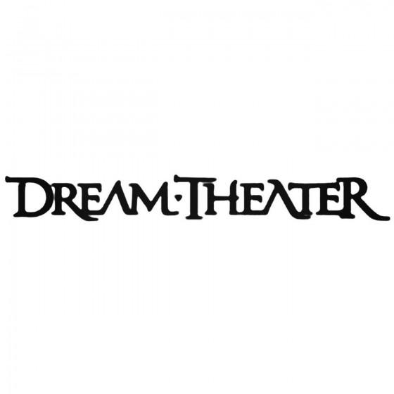 Dream Theater Decal Sticker