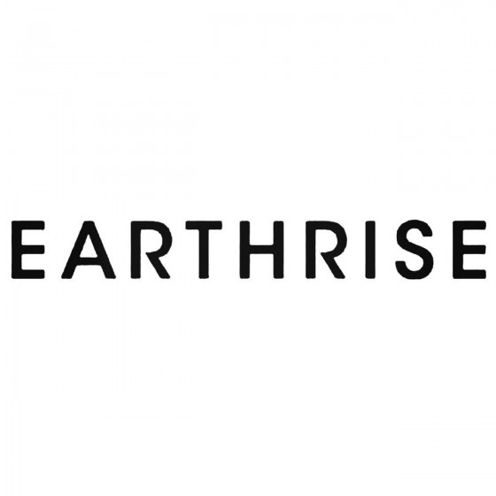 Earthrise Band Decal Sticker
