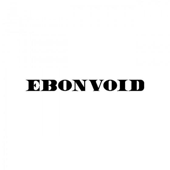 Ebonvoidband Logo Vinyl Decal