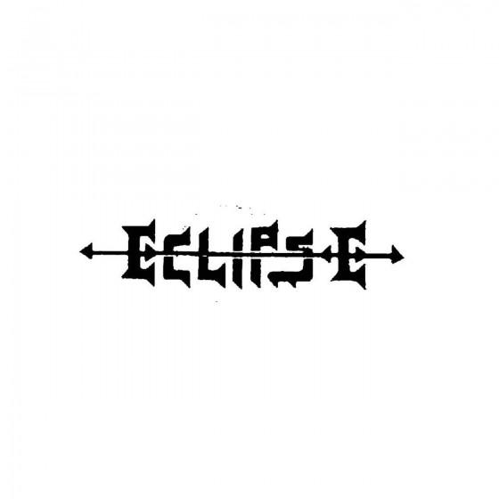 Eclipse 3band Logo Vinyl Decal