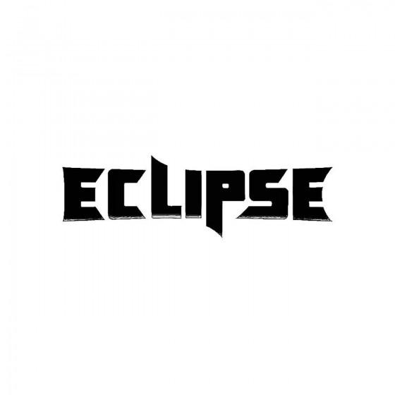 Eclipseband Logo Vinyl Decal