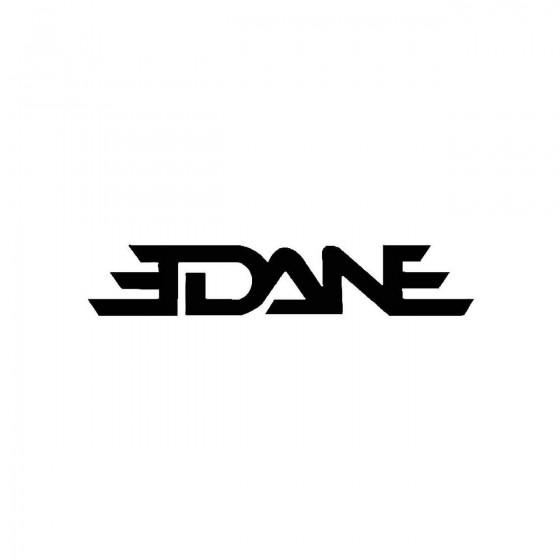 Edaneband Logo Vinyl Decal