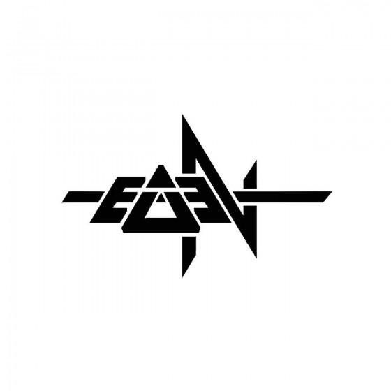 Eden 2band Logo Vinyl Decal