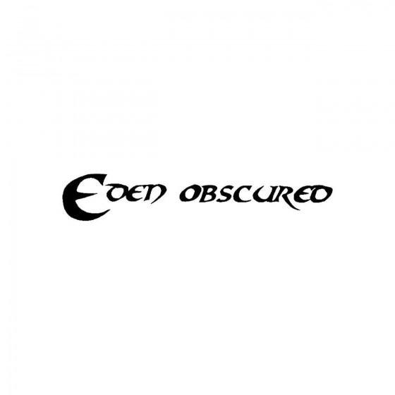 Eden Obscuredband Logo...