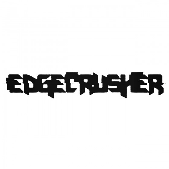 Edgecrusher Rus Band Decal...