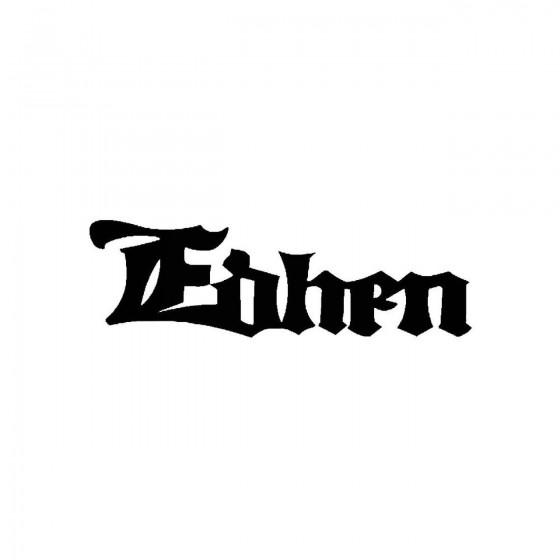 Edhenband Logo Vinyl Decal