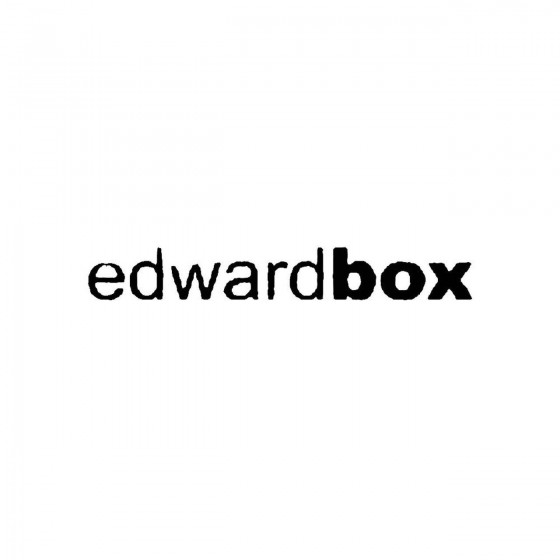 Edward Boxband Logo Vinyl...