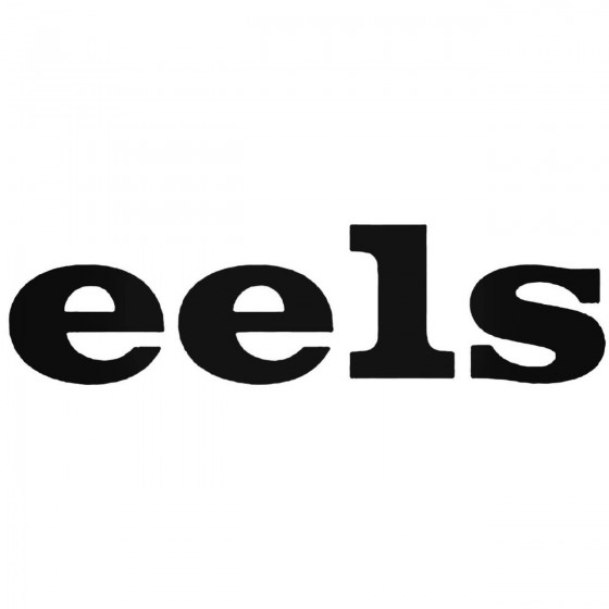 Eels Band Decal Sticker