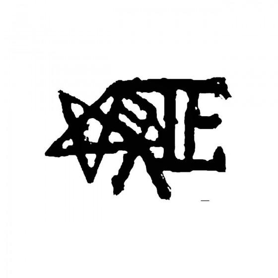 Eerie 4band Logo Vinyl Decal