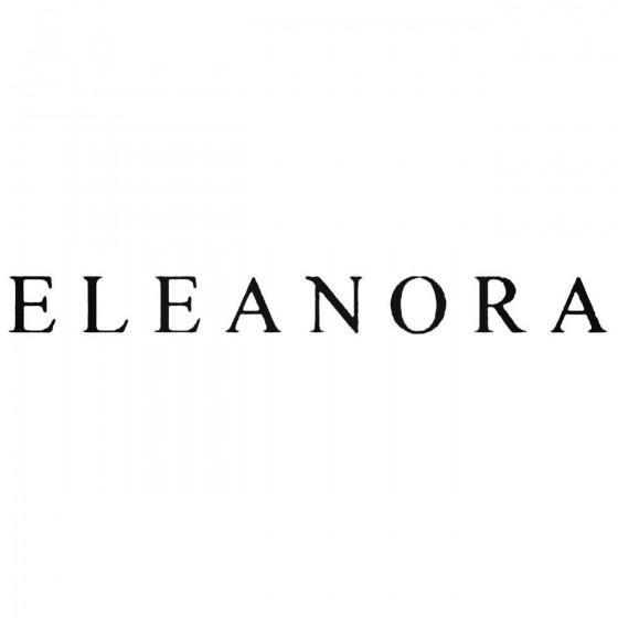 Eleanora Band Decal Sticker