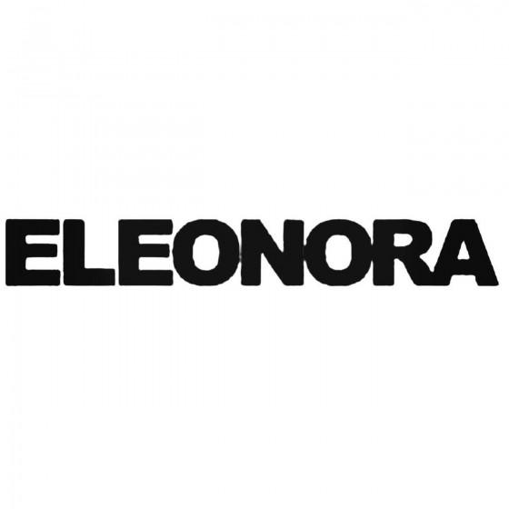 Eleonora Band Decal Sticker