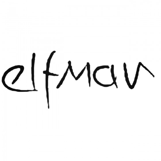 Elfman Band Decal Sticker