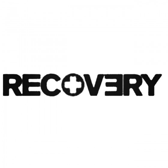 Eminem Recovery Decal Sticker