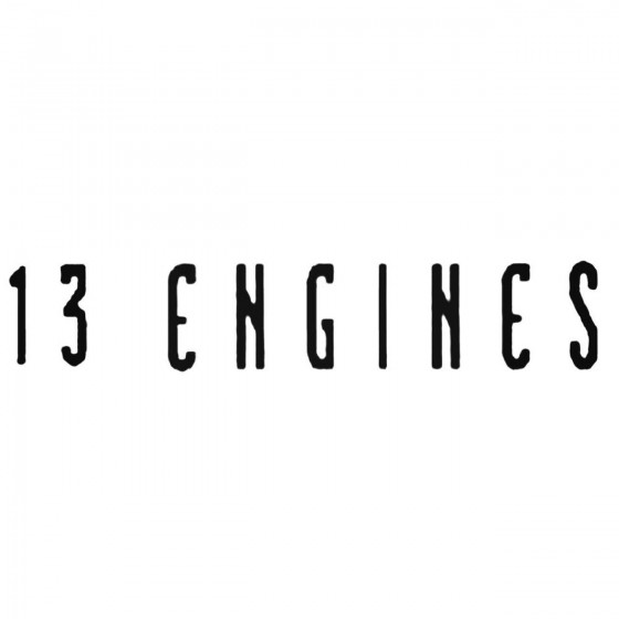 Engines Band Decal Sticker