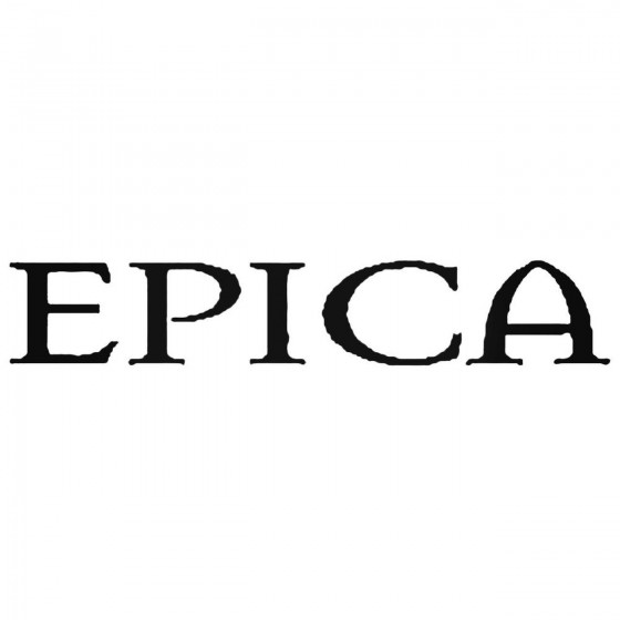 Epica Band Decal Sticker