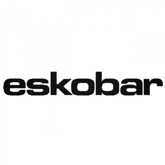 Eskobar Band Decal Sticker