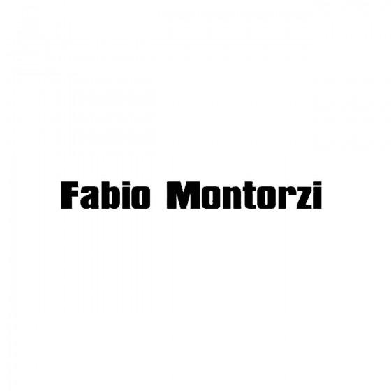 Fabio Montorziband Logo...