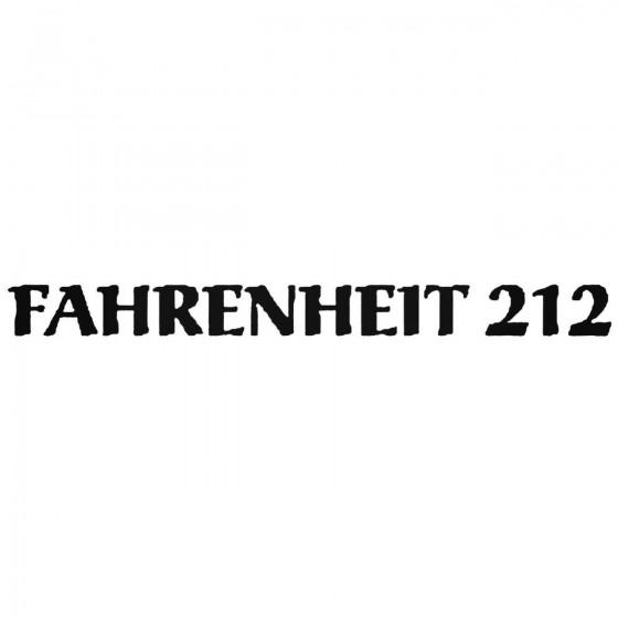 Fahrenheit Logo Vinyl Band...