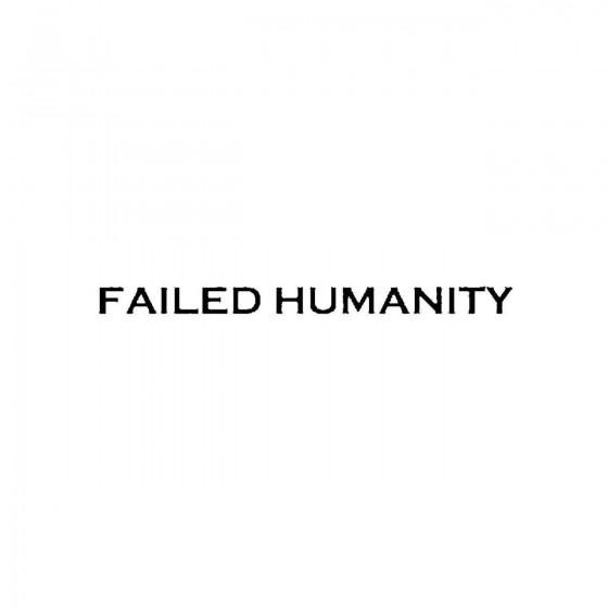 Failed Humanityband Logo...