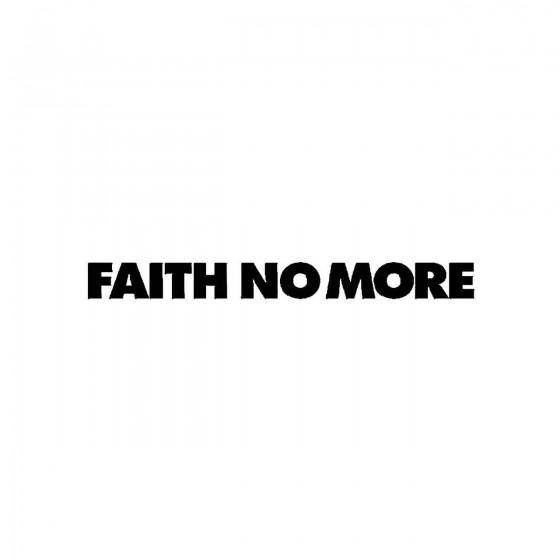 Faith No Moreband Logo...