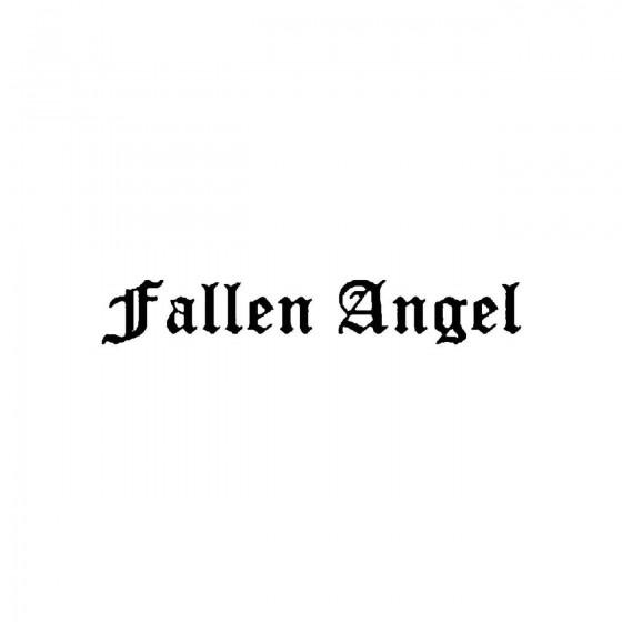 Fallen Angelband Logo Vinyl...