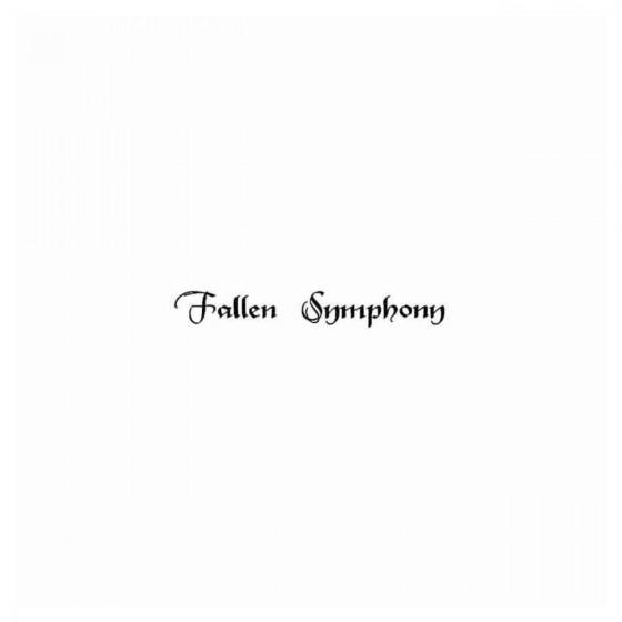 Fallen Symphony Band Decal...