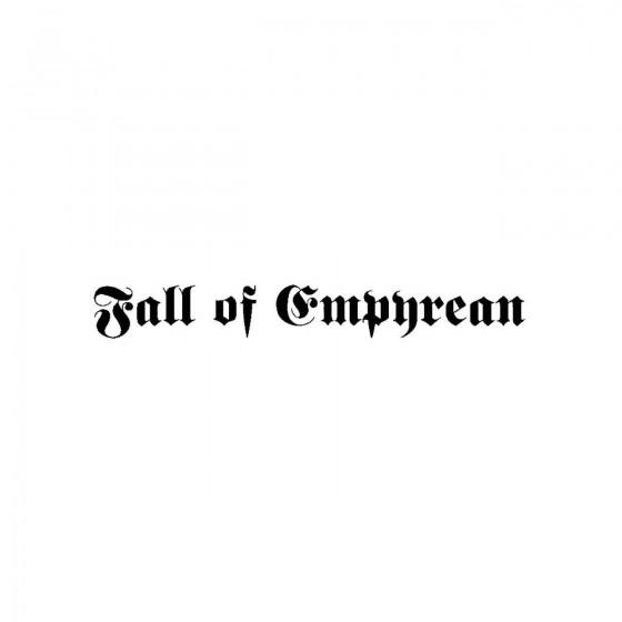 Fall Of Empyreanband Logo...