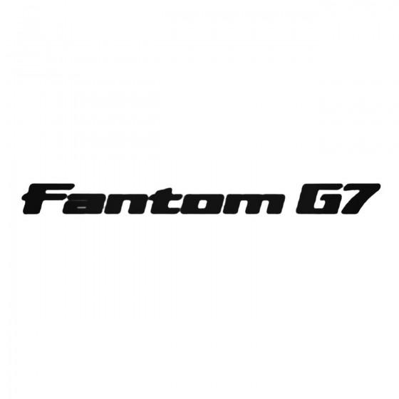 Fantom G7 Decal Sticker