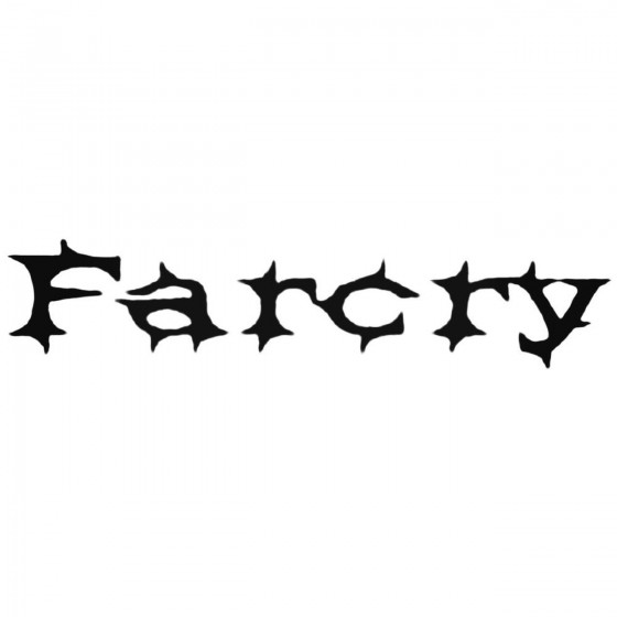 Farcry Hun Band Decal Sticker