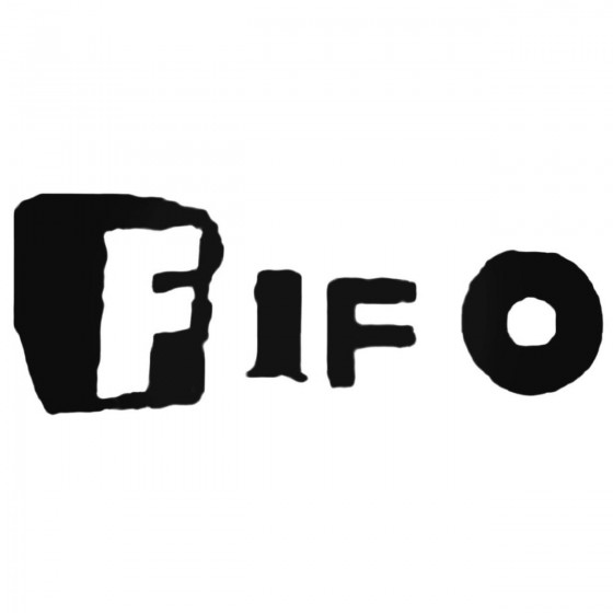 Fifo Band Decal Sticker