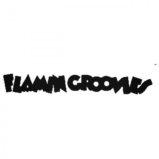 Flamin Groovies Band Decal...