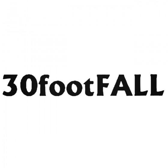 Footfall Band Decal Sticker