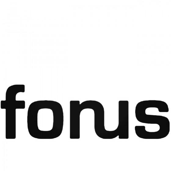 Forus Punk Decal Sticker