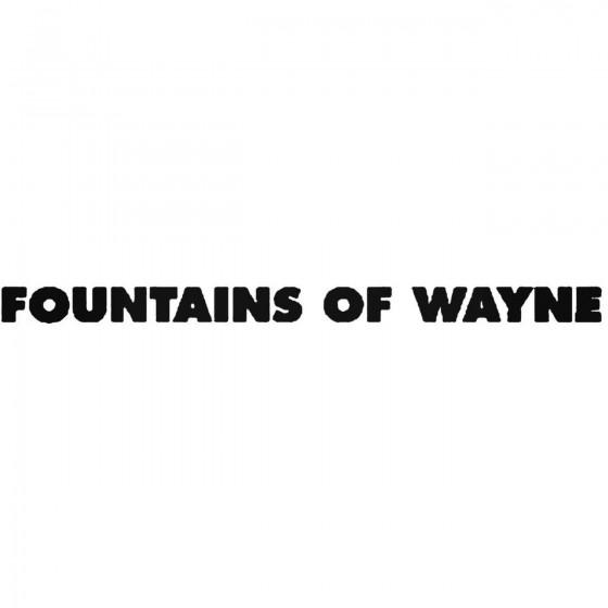 Fountains Of Wayne Band...