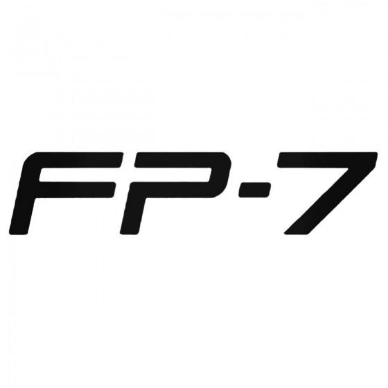 Fp 7 Decal Sticker