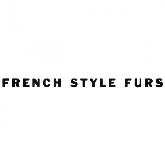 French Style Furs Band...