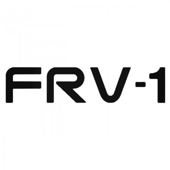 Frv 1 Decal Sticker