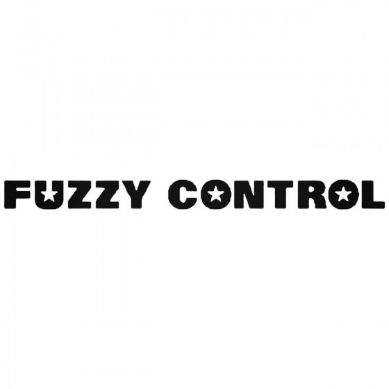 Fuzzy Control Band Decal...
