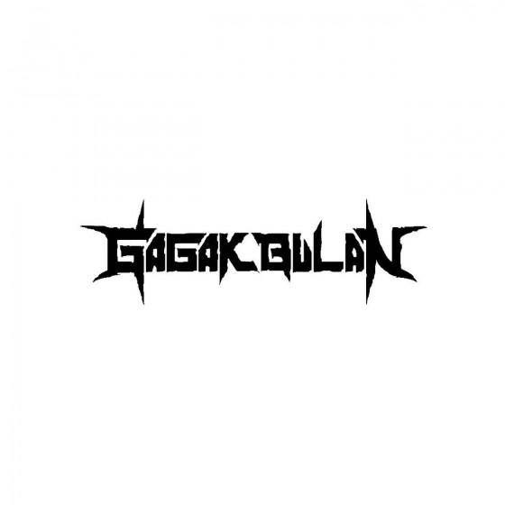 Gagak Bulanband Logo Vinyl...