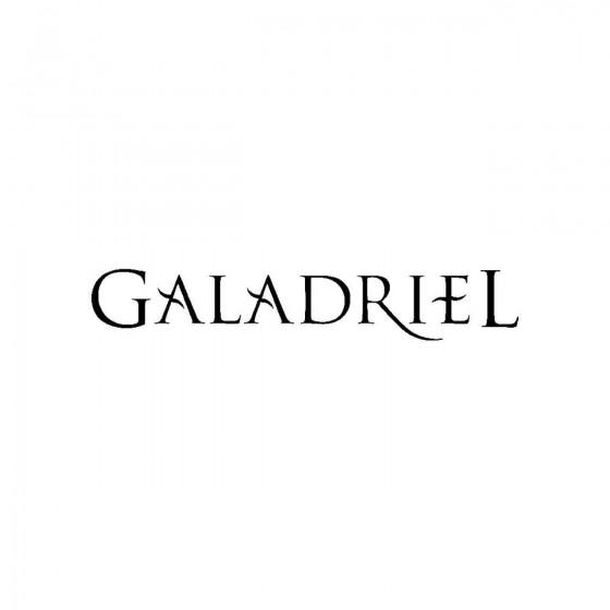 Galadrielband Logo Vinyl Decal