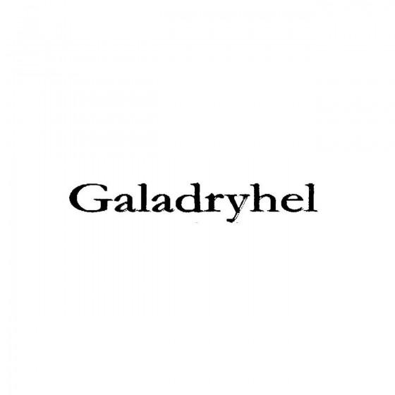 Galadryhelband Logo Vinyl...
