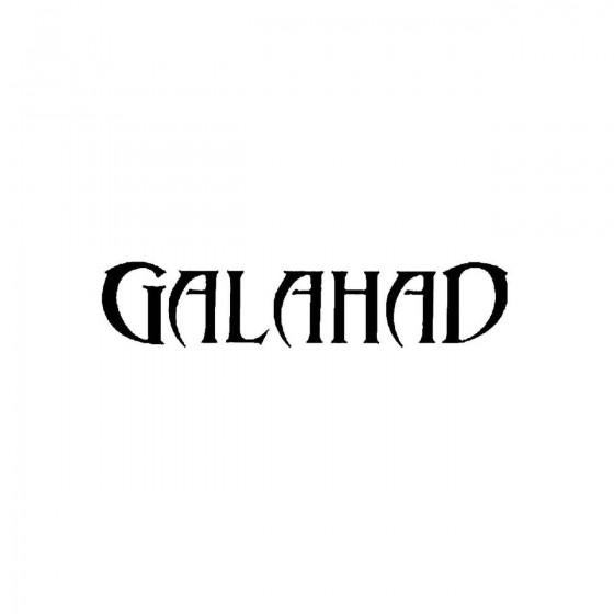 Galahad 3band Logo Vinyl Decal