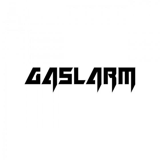 Gaslarmband Logo Vinyl Decal