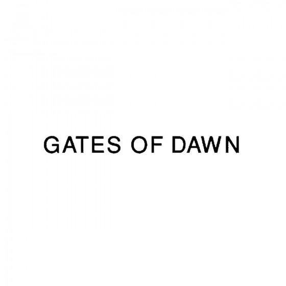 Gates Of Dawn 2band Logo...
