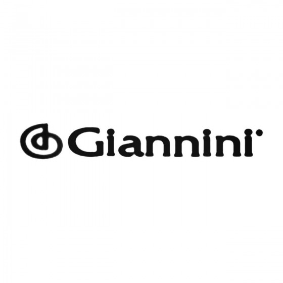 Giannini Decal Sticker
