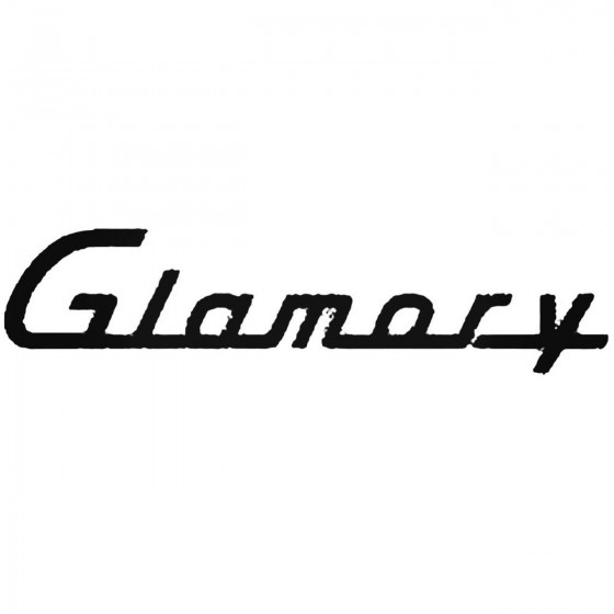 Glamory Band Decal Sticker