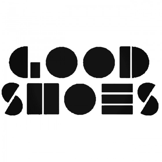 Good Shoes Band Decal Sticker
