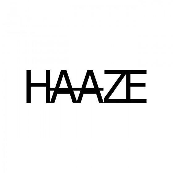 Haazeband Logo Vinyl Decal